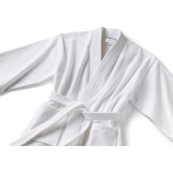 Bukle Beyaz Bornoz 30 gr/m2 Kimono