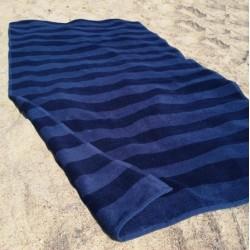 Plaj Havlusu - Lacivert - Mavi