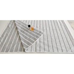 Outlet - Şezlong / Plaj Havlusu - Gri / İndanthren boyalı 80 x 180 cm - 620 gr/adet